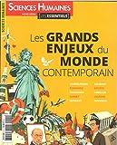Sciences Humaines Hs N  1  Essentiel Grands Enjeux du Monde Contemporain Mars 2017