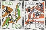 Italia 1341-1342 (completa.Problema.) 1971 Jugendsportspiele (Francobolli ) - Prophila Collection - amazon.it