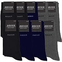 RØDER Business Socken für Herren 9er Set • Elastische, bequeme Herrensocken mit Komfortbund • Verschiedene Größen und…