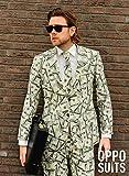 OppoSuits Designer Anzug Cashanova Kostüm Herren Gr. 54 Partyanzug Fasching