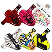 Rie:sel Design - guardabarros, Protección antisalpicaduras para bicicleta, rueda delantera, horquilla | XC | MTB | Marathon | Free Ride | DH | 26