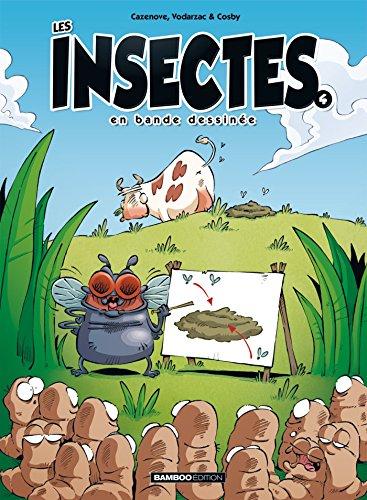 Les insectes en BD - tome 4