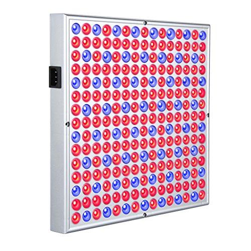 Excelvan 45W 225 LED SMD Pianta Idroponica Grow Light & Illuminazione di Pannello per il Fiore della Pianta di Verdure Serra Giardino Pianta dell'interno si Sviluppa Chiaro (165 Rosso + 60 Blu)
