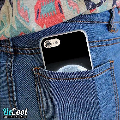 BeCool®- Coque Etui Housse en GEL Flex Silicone TPU Iphone 8, Carcasse TPU fabriquée avec la meilleure Silicone, protège et s'adapte a la perfection a ton Smartphone et avec notre design exclusif. Exp L1526