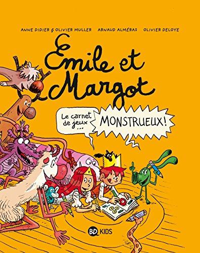 Émile et Margot - Cahier de jeux