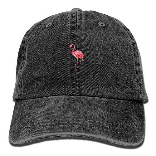 Flamingo Boys Girls Snapback Baseball Cap - Blue Rack Hat Wall