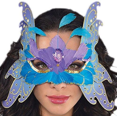 Halloweenia - Schmetterling Maske, (Twilight Kostüme Schmetterling)