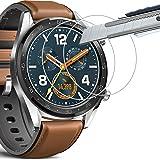 [Lot de 3] Verre Trempé Huawei Watch GT, THILIVE Protection D'écran Verre Trempé Pour Huawei Watch GT, Résistant aux rayures,