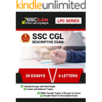 SSC CGL/CHSL DESCRIPTIVE Book | A Guide to success in Descriptive Exam: 30 Essays & 6 Letters with Mindmap (SSCTUBE…