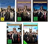 Downton Abbey - Staffel Eins bis Fünf im Set - Deutsche Originalware [19 DVDs]