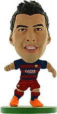 Soccerstarz Barcelona Luis Suarez Home Kit 2015 Version Figures