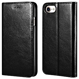iPhone 7/8 7/8 Plus iPhone XR/XS Max Leather Wallet Case
