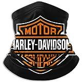 not Balaclava Harley Davidson Face Mask, Tour de Cou Bandanas Tube Masque sans Couture Cache-Cou Echarpe Balaclava Moto Ski H