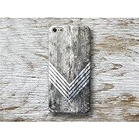 Weiß Chevron Holz Print Handy Hülle Handyhülle für Sony Xperia Z5 Z3 compact M5 M4 LG G6 G5 G4 G3 Moto G5 G4 G2 X2 Microsoft Lumia 950 550 Oneplus 2 3