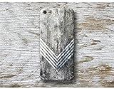 Chevron Holz Print Hülle Handyhülle für Samsung Galaxy S9 S8 Plus S7 S6 Edge S5 S4 mini A3 A5 J3 J5 J7 Note 9 8 5 4 Core Grand Prime
