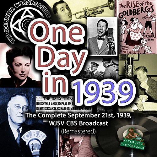 One Day in 1939  Audiolibri