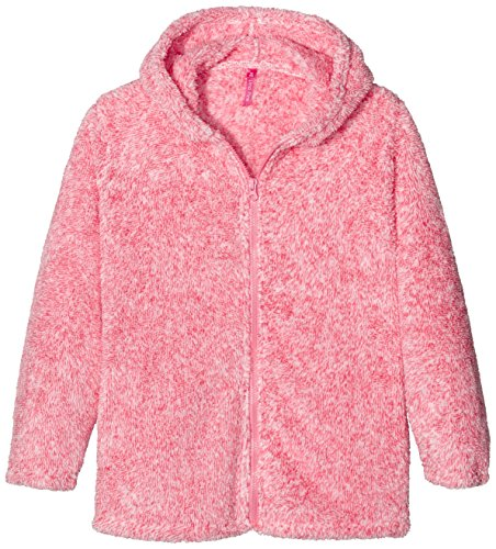 Lina Pink EF.Basic.VES40.MZ, Peignoir Fille, Rose (Rose Chiné), FR: 14 Ans (Taille Fabricant: 14 Ans)