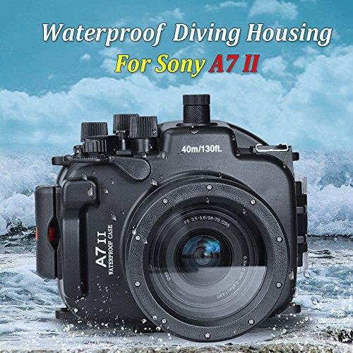 0 Meter Unterwasser Kamera Gehäuse wasserdichtes Gehäuse für Sony A7 II/A7R II ()