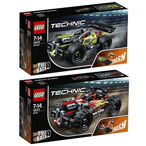 Lego Technik 2er Set 42072 42073 ZACK + BASH