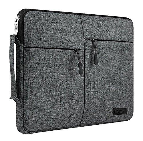 jlyifan Leinwand Busniess Reißverschluss mit Sleeve Tasche zwei Innentaschen; Bezug für Dell XPS 12/Latitude 12700012,5/HP Spectre x2/HP Pavilion X2/Samsung Galaxy TabPro S 1212,1Tablet
