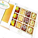 [Sponsored]Ghasitaram Gifts Diwali Gifts Diwali Sweets - Assorted Exotic Mix Sweets 12 Pcs
