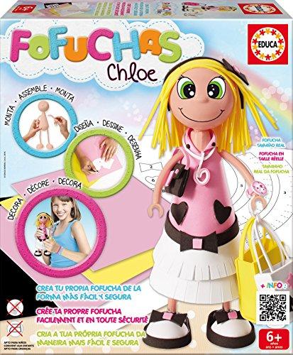Fofuchas - Chloe Glamour, juego creativo (Educa Borrás 16114)