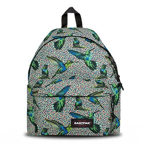 Eastpak Authentic Padded Pak'R - Sac à dos style casual, Multicolore (Hummingbirds)