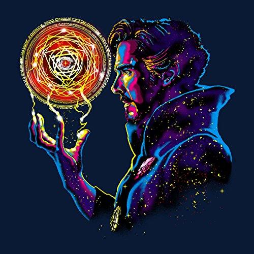 New Doctor Strange Sorcerer Supreme Men's Vest Navy Blue