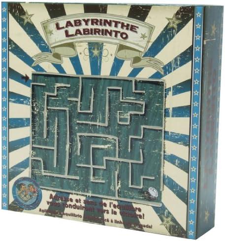 Gueydon Jouets - 801944 - Jeu de Société - Jeu Bois du Labyrinthe | Apparence Attrayante