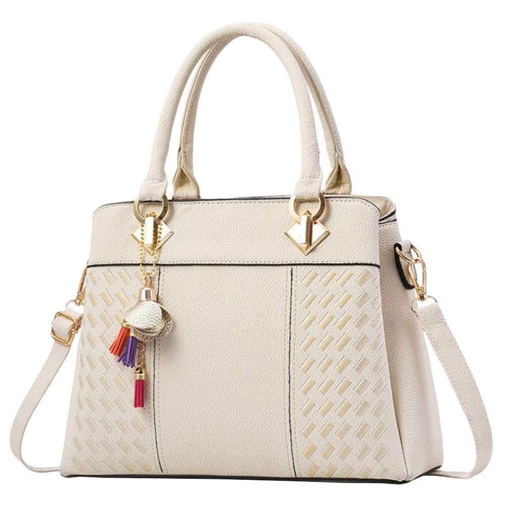 Leap de G Mujer Bolso shopper–Bolso elegante, Shopper cremallera Mujeres Bolsos, grande hombro mujeres bolso