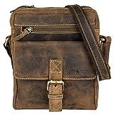 Green Burry Umhgängetasche Vintage Brown