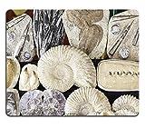 Liili Mauspad Naturkautschuk Mousepad Bild-ID 31820664Fossilien in einem alten Markt Detail Eine Fossil Stein klassische Archäologie