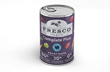 Fresco Dog Complete Plus Pute (haltbares B.A.R.F.) - Getreidefrei 400g