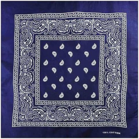 TC Accessories-Sciarpa/Bandana Head Scarf foulard, motivo cachemire, donna, colori assortiti, Unisex, sciarpa, Bandana, Uomo