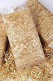 12 kg Stroh Einstreu fürs Nagerheim in handlichen 1 kg Beuteln