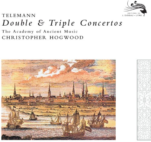 Telemann: Concerto for Flute, Oboe d'amore, Viola d'amore, Strings and Continuo in E major, TWV 53-1. Andante