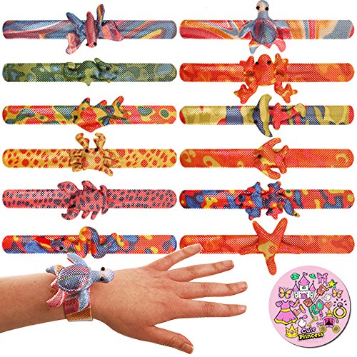 10 x Animal Bracelets For Girls Birthday Party Bag Fillers Pinata Goody Bag Toy