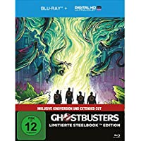 Ghostbusters (2016) (Extended Cut + Kinoversion) (Limited Steelbook Edition) Blu-ray