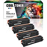 Cool Toner Compatibile Toner Cartridge per Samsung CLP 680 CLP-680ND CLX 6260 CLX-6260FR CLX-6260FD CLX-6260ND CLX-6260FW per CLT-K506L CLT-Y506L CLT-M506L CLT-C506L, K-6000 C/M/Y-3500 Pagine, Confezione da 4 pezzi