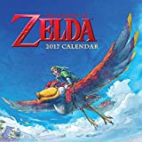 Image of The Legend of Zelda 2017 Calendar