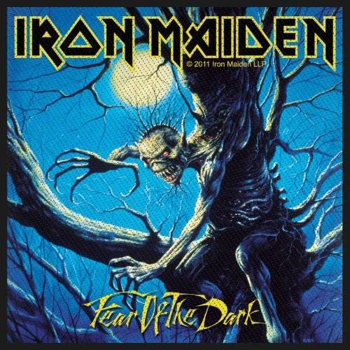 Preisvergleich Produktbild IRON MAIDEN - Fear of the Dark - Patch / Aufnäher