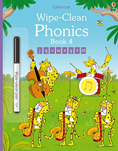 Wipe-clean phonics. Per la Scuola elementare: Wipe-Clean Phonics Book 4 (Wipe-clean Books)