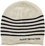 Tommy Hilfiger Damen Strickmütze Tommy Stripe Beanie