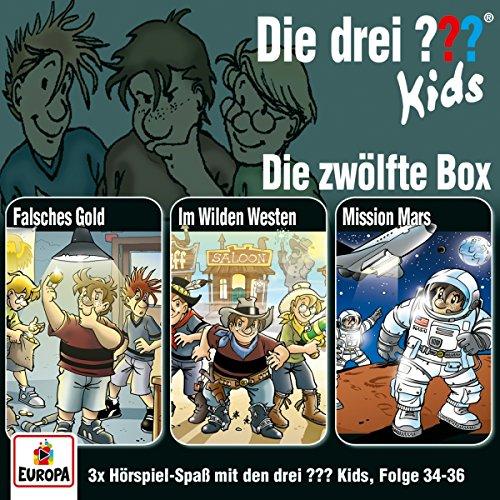 Die drei ??? Kids 12. 3er Box - Folgen 34-36