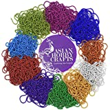 AsinaHobbycrafts Ball Chains Shiny & Glittery - Combo Of 10 Color For Jewelery Making/Designing & Craft Work 2m Each