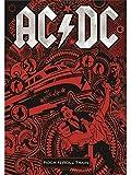 AC/DC FLAGGE FAHNE ROCK 'N' ROLL TRAIN