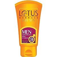 Lotus Safe Sun Men Sunscreen SPF 30 PA+++, 100g