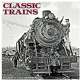 Classic Trains 2018 Wall Calendar