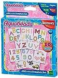 Aquabeads 30518 ABC und 123 Vorlage Bastelset Schule medium image