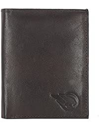 ROUGE Men's Old River Men Black High Quality Genuine Leather Wallet, Note Case(RO-225N-24)